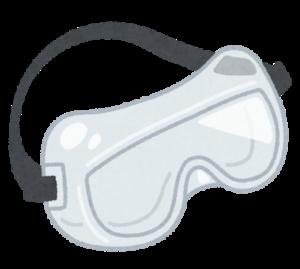保護メガネ、保護ゴーグル
